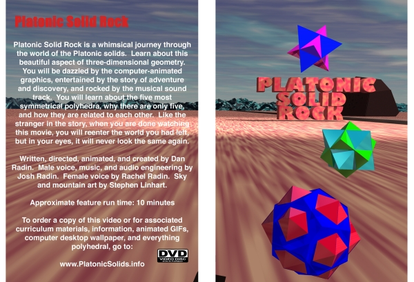 Platonic Solid Rock This is the artwork from the DVD cover.