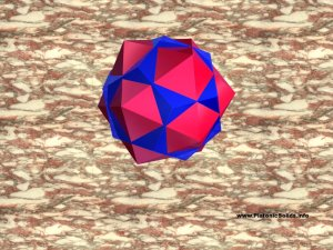 dodecahedron icosahedron star 1024  by 768